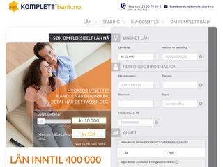 Komplett bank børs